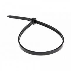 Стяжки нейлон RITAR 5,0x450mm черные (100 шт) высокое качество, ультрафиолетостойкие, диапазон рабочих температур: от -45С до +80С