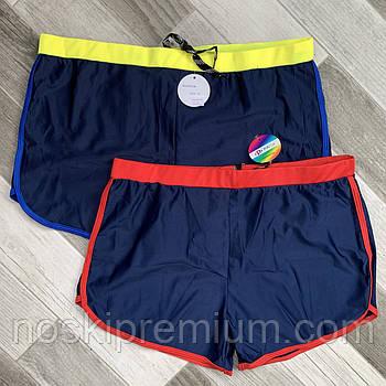 Плавки шорты купальные мужские Paidi, размеры 50-58, синие, 9938