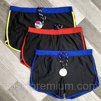 Плавки шорты купальные мужские Paidi, размеры 50-58, чёрные, 9938