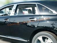 Хромированные накладки на стекла (стекольный молдинг) BMW X5 2008-14