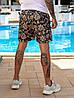 Чоловічі пляжні шорти з плащової тканини з підкладкою, розміри від 48 до 56, ціна за комплект з 3 од., фото 7
