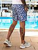 Чоловічі пляжні шорти з плащової тканини з підкладкою, розміри від 48 до 56, ціна за комплект з 3 од., фото 8