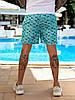 Чоловічі пляжні шорти з плащової тканини з підкладкою, розміри від 48 до 56, ціна за комплект з 3 од., фото 3
