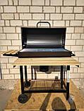 Угольный гриль OneConcept, барбекю новый но есть нюансы, фото 2