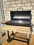 Угольный гриль OneConcept, барбекю новый но есть нюансы, фото 3