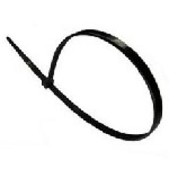 Стяжки нейлон RITAR 3,0x200mm черные (100 шт) высокое качество, ультрафиолетостойкие, диапазон рабочих температур: от -45С до +80С
