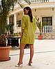 Женская легкая летняя туника из хлопковой ткани, большие размеры,  от 48 до 58, цена за комплект из 2 шт., фото 3