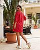 Женская легкая летняя туника из хлопковой ткани, большие размеры,  от 48 до 58, цена за комплект из 2 шт., фото 4