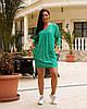 Женская легкая летняя туника из хлопковой ткани, большие размеры,  от 48 до 58, цена за комплект из 2 шт., фото 5