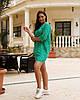 Женская легкая летняя туника из хлопковой ткани, большие размеры,  от 48 до 58, цена за комплект из 2 шт., фото 6