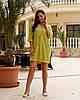 Женская легкая летняя туника из хлопковой ткани, большие размеры,  от 48 до 58, цена за комплект из 2 шт., фото 7