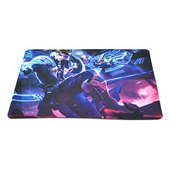 Коврик 240*200 тканевой GAMER, толщина 2 мм, цвет Mix Color, Пакет