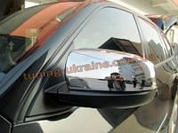 Хромированные накладки на зеркала BMW X5 2008-14
