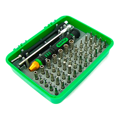 Набор отверток BAKKU BK-3051 (Ручка + 47 насадок), Box