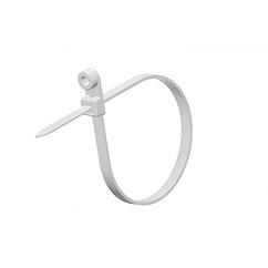 Стяжки нейлон под дюбель RITAR 4,0х150mm белые (100 шт) высокое качество, диапазон рабочих температур: от -45С до +80С Q90