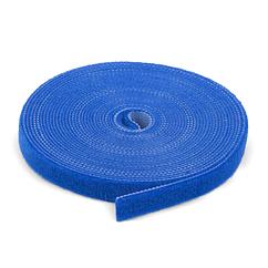 Стяжки на липучке ширина 20мм, рулон 50м, синие, цена за рулон