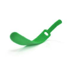 Стяжки на липучке 12*150мм, зеленые