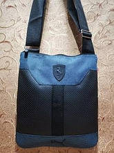 Барсетка Ferrari-puma качество мессендже ткань с искусств кожа спортивные сумка для через Новый стиль