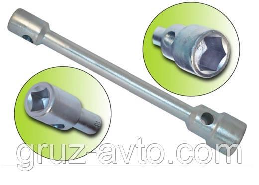 Ключ балонний торцевій під футорку (квадрат) 22х38мм L=440мм
