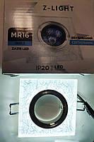 Встраиваемый точечный светильник  Z-light ZA 315 LED с подсветкой.
