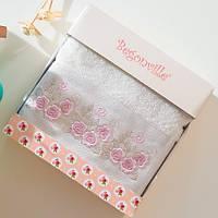 Махровое полотенце Begonville - Ruby 2 ecru (молочный)  50*90