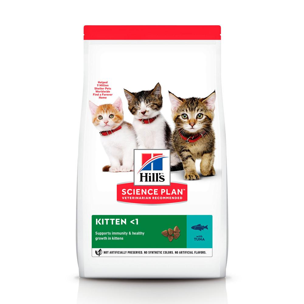 Hill's SCIENCE PLAN Kitten Сухий Корм для Котенят з Тунцем - 1,5 кг