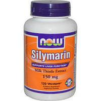 Now Foods, Защита печени, Силимарин, экстракт расторопши пятнистой, 150 мг, 120 капсул