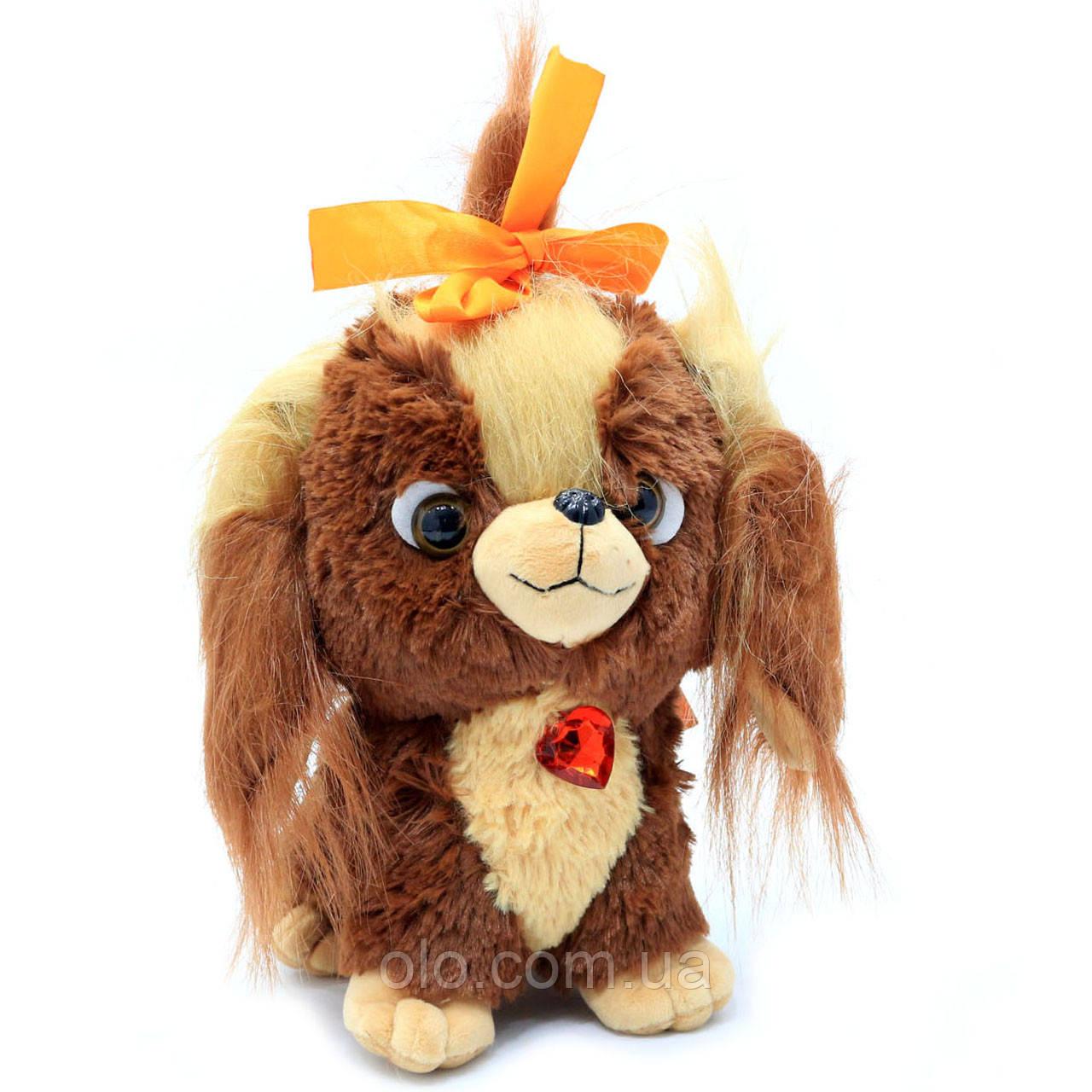 М'яка іграшка Копиця «Щеня Мупсі», хутро штучний (00135-72)