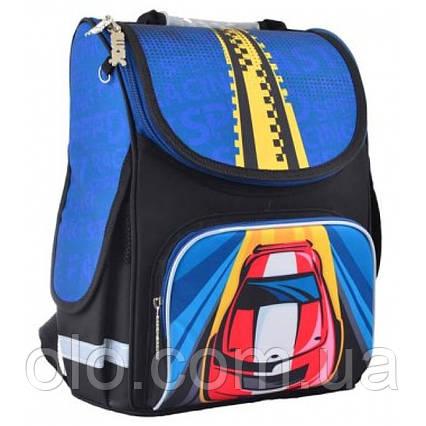 Рюкзак школьный каркасный Smart Car Черный (554545)