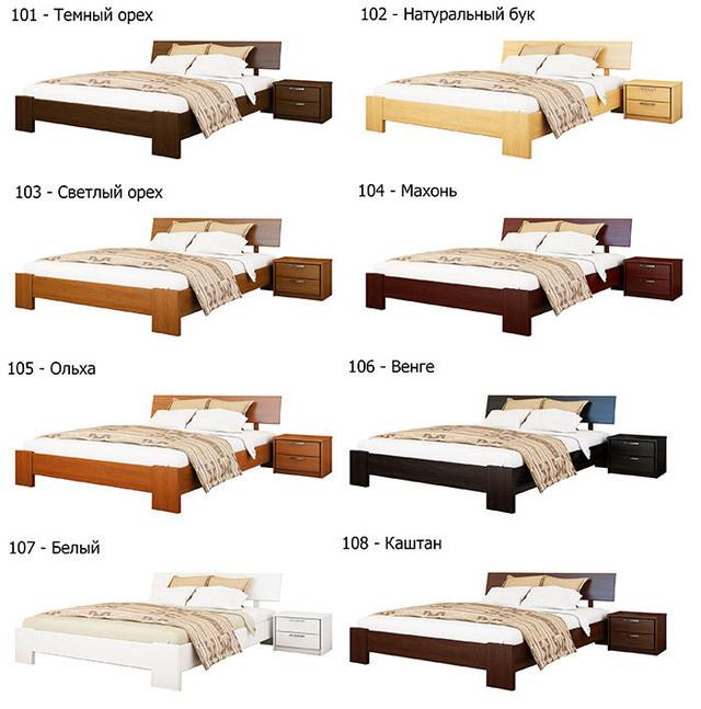 Купити Ліжко Титан (Бук)