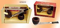Трубка Falcon 6216111 прямая 2 чашки, 3 ерша, 25 фильтр. колец, в подар. короб
