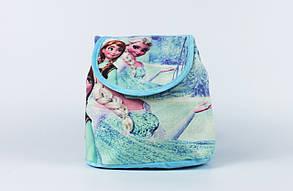 Рюкзак-мешок детский 'Frozen', Холодное сердце Эльза и Анна 22x22x12 см