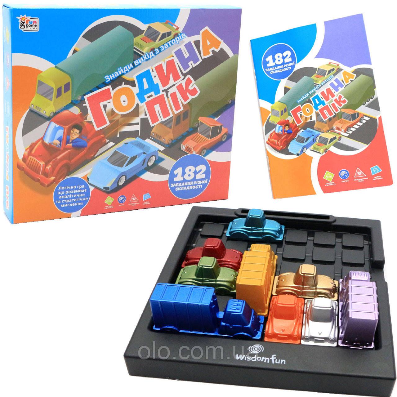 Настільна гра Fun Game «Година-пік» (Час пик) UKВ-В0035