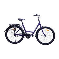 """Велосипед AIST Tracker 1.0 26"""" 19"""" Фиолетовый"""