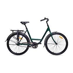 """Міський велосипед AIST Tracker 1.0 26"""" Зелений / ЛЕЛЕКА / дорожній / байк сіті"""