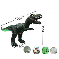 Фігурка 745 (30шт) динозавр, 40см, звук, світло, бат (табл), в кульку, 40-28-9см