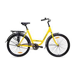"""Велосипед AIST Tracker 1.0 26"""" 19"""" Желтый"""