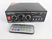 Усилитель звука UKC SN-777BT Bluetooth. Стерео усилитель интегральный