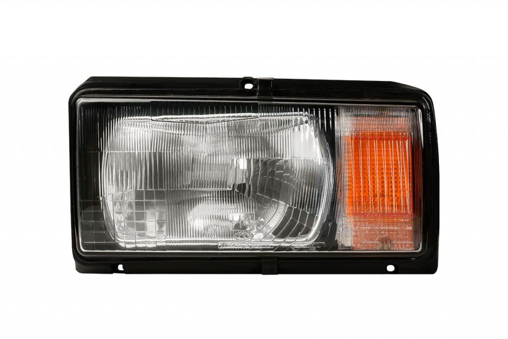 Фара ВАЗ 2104, 2105, 2107 ліва помаранчевий покажчик, без лампи, Н4 Формула Світу