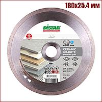 Алмазний відрізний диск Distar Bestseller Ceramic Granite 180x25.4 мм