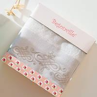 Махровое полотенце Begonville - Ruby 14 ecru (молочный)  50*90