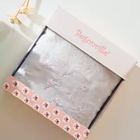 Махровое полотенце Begonville - Ruby 27 ekru (молочный) 50*90