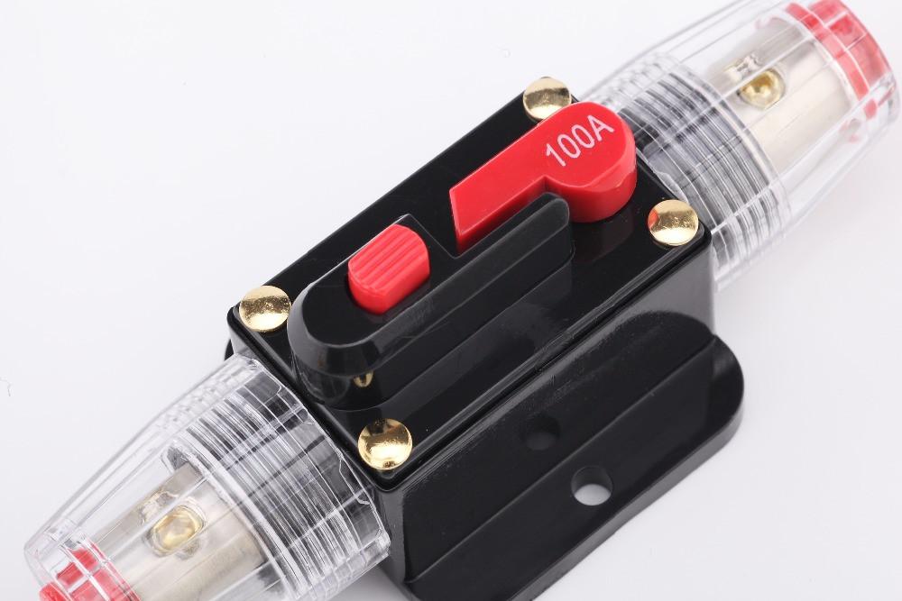 Переривач ланцюга підсилювача звуку (запобіжник) 100А