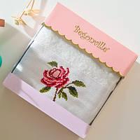 Махровое полотенце Begonville - Ruby 20 ecru (молочный)  50*90