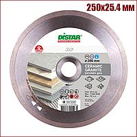 Алмазний відрізний диск Distar Bestseller Ceramic Granite 250x25.4 мм