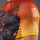 Рашгард с коротким рукавом GAWAKOTO Monkey King orange, фото 2