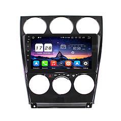 Штатна автомобільна магнітола Lesko для Mazda 6 (2008-2015р.) пам'ять 2/32 Гб GPS WiFi Android