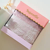 Махровое полотенце Begonville - Eva 3 pembe (розовый) 50*90