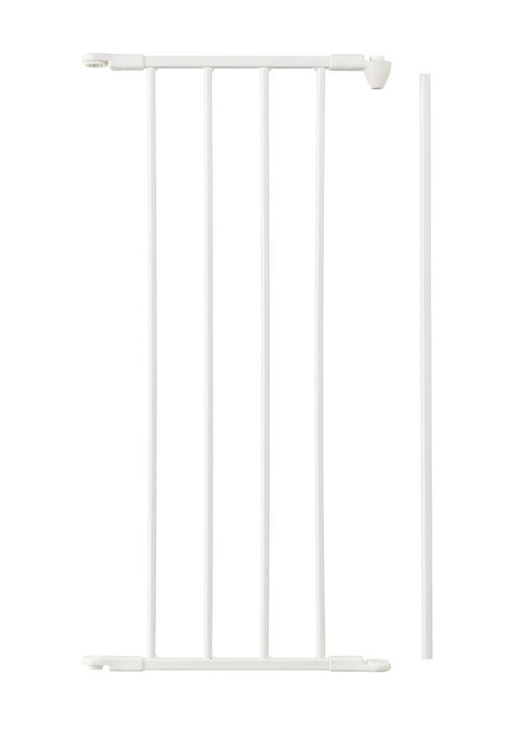 Дополнительная панель шириной 33 см для ограждений Baby Dan FLEX M, L, XL - цвет белый
