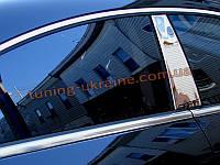 Хромированные накладки на боковые окна (стекольный молдинг) BMW X6 2008-14